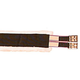 Nylon Fleece Girth 44 Inch Brown