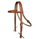 Reinsman Harness Leather Wide Browband Headstall