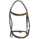 HDR Pro Fancy RaisedPadded Bridle Horse Oak Bark