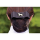 Black Ribbon Show Bow Silver-Horse Head