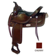 Simco-Longhorn Hamley Trail Saddle 17In Show Walnu