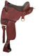 King Trekker Trail Saddle W/O Horn 17.5In Brown
