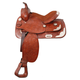 King Lancaster Western Show Saddle 17 Black