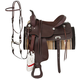 King Basic Leather Trail Saddle Package 14 Brown