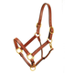 Tory Triple Stitch Leather Halter w/Snap Warmblood