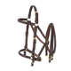 Australian Outrider Halter Bridle with Reins Brown