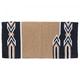 Tough 1 Tomahawk Acrylic Saddle Blanket Tan/Black