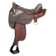 King Trekker Endurance Saddle W/O Horn Brown 17.5