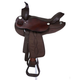 King Series Krypton Round Saddle Brown 17