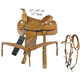 American Saddlery Pecos Roper Saddle Package