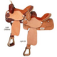 King Series Competition Barrel Saddle Lt Oil 16.5