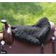 Cashel Western Luxury Fleece Tush Cushion Black