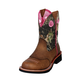 Ariat Ladies Fatbaby Cowgirl Boots 12 Mossy Oak
