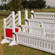 Burlingham Sports Jump Gate Four Square Red