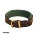 Tory Leather Padded Bracelet Havana