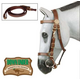 Kimberley Australian Halter Bridle with Reins Brow
