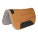 Mustang Canvas Felt Bottom Round Ranch Pad