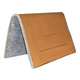 Mustang Canvas Felt Pack Pad Brown