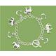 Horse & Horseshoe Charm Toggle Bracelet