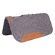 Mustang Vented Felt Square Pad with Wear Leathers