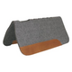 Mustang Pro-Ride Vented Felt Pad with Wear Leather