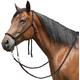 Mustang Nylon Bitless Bridle w/Reins Black