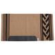 John Deere Navajo Saddle Blanket Tan/Black