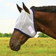 Weaver Fly Mask Small White/Navy