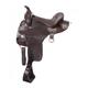 King Trekker Endurance Saddle w/Horn 17.5in Brown