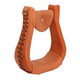 American Saddlery Leather Covered Visalia Stirrups