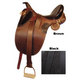 Kimberley Australian Saddle w/Horn Package Brown 1