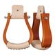 Tough-1 Wooden Roper Bell Stirrups