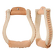 Tough-1 Rawhide Oxbow Stirrups
