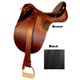 Kimberley Outback Australian Saddle no Horn Brown