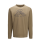 Macpac String Logo Fairtrade Organic Cotton Long Sleeve Tee — Men's