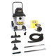 Shop-Vac 9252310 10 Gallon 6.25 Peak HP Stainless Steel Industrial Super Quiet Dolly Style Wet/Dry Vacuum