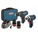 Bosch CLPK241-120 12V Max Cordless Lithium-Ion 3/8 in. Hammer Drill & Impact Driver Combo Kit
