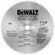Dewalt DW3329 7-1/4 in. 68 Tooth Steel Circular Saw Blade
