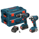 Bosch CLPK234-181L 18V Cordless Lithium-Ion 1/2 in. Drill Driver and Impact Driver Combo Kit with L-BOXX2 Storage Cases