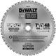 Dewalt DW7766 7-1/4 in. 48 Tooth Ferrous Metal Cutting Circular Saw Blade