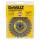 Dewalt DW4930 4 in. x 0.020 in. Carbon Steel Wire Wheel