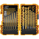 Dewalt DW1361 21-Piece Titanium Pilot Point Drill Bit Set