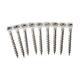 SENCO 08D175W 8-Gauge 1-3/4 in. Collated Decking Screws (1,000-Pack)