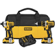 Dewalt DCK281D2 20V MAX XR Cordless Lithium-Ion 1/2 in. Brushless Drill Driver and Impact Driver Combo Kit