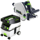 Festool PM561556 Plunge Cut Circular Saw with CT MINI 2.6 Gallon Mobile Dust Extractor