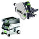Festool PD561556 Plunge Cut Circular Saw with CT MIDI 3.3 Gallon Mobile Dust Extractor