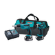 Makita LXT249 LXT 18V Cordless Lithium-Ion 1/4 in. Impact Driver and Drywall Screwdriver Combo Kit