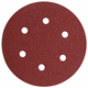 Bosch SR6R120 6 in. 120-Grit Sanding Discs for Wood (5-Pack)