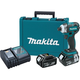 Makita XDT09M 18V LXT 4.0 Ah Cordless Lithium-Ion Brushless Quick-Shift Mode 3-Speed Impact Driver Kit