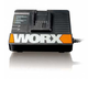 Worx 50018199 18V Lithium-Ion 30 Minute Rapid Charger